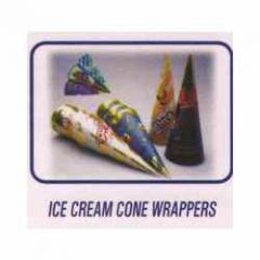 Ice Cream Cone Wraps/Lids
