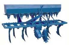 Seed-cum-fertilizer drill seeders