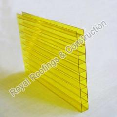 Hollow Polycarbonate Glazing Sheets