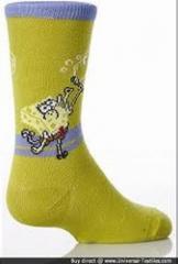 Kid's character socks