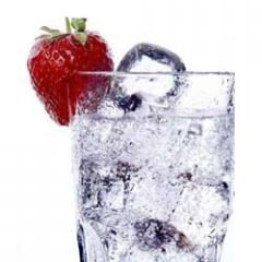 Strawberry fruit water