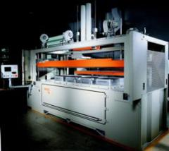 Thermoforming machines of T series