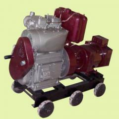 Air Cooled With Blower Generator Set