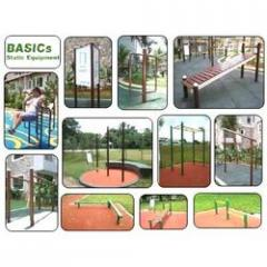 Static playground equipment