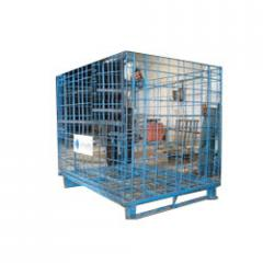 Heavy Duty Collapsible Wire Mesh Bins