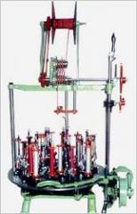 Conventiinal Spring Loaded Braiding Machine