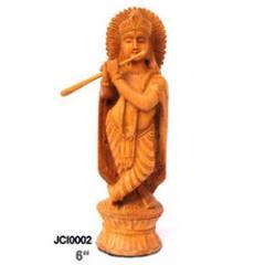 Wooden statuet