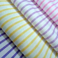 Twill Weave Shirting Fabric
