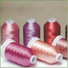 Viscose Embroidery (Twisted ) yarn