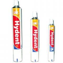 Cosmetics & Toiletries tubes