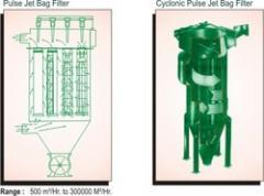 Cyclonic Pulse Jet Bag Filters