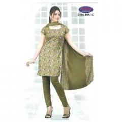 Cotton Print Dress Material