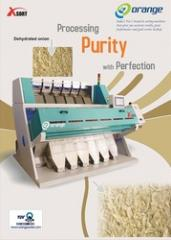 Dehydrated Onion Sorting Machine