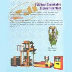 PVC Heat Shrinkable Blown Film Plant