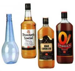 Plastic Liquor Bottels