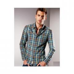 Small Check Men's Shirts