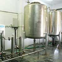 UV System & Storage Tank