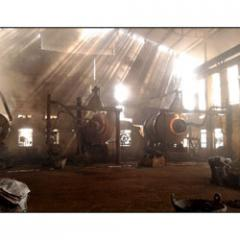Lead Smelting Rotary Furnace Plant