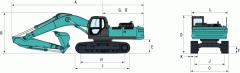 Hydraulic excavator SK350LC (SK350LC-8)