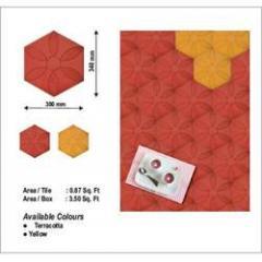 Rose Floor Tile