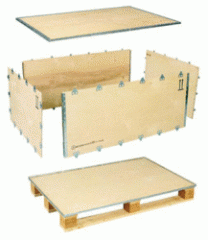 Collapsible / Foldable / Nailless Plywood Boxes -