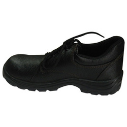 High Ankle Safety Shoe with PU Sole