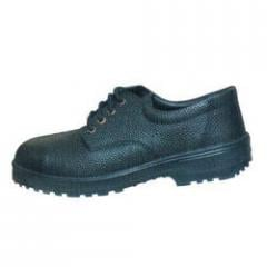 Derby Style Safety Shoe with Rubber Sole