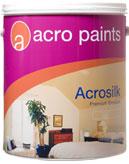 Paint ACROSILK- Supper acril emulsion