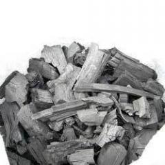 Wood Char Coal Chips