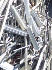 Scrap of ferrous and nonferrous metals