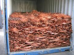Scrap of non-ferrous metals