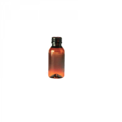 60 ml Round ( Amber / Clear )