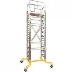 Telescopic Mobile Platform Ladder