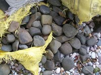 Natural Black Pebble Stones
