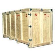 Pine Wood Heavy Machine Packing