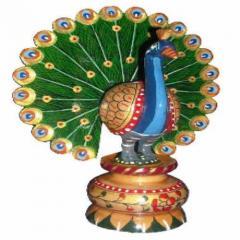 Peacock Dancing Painted