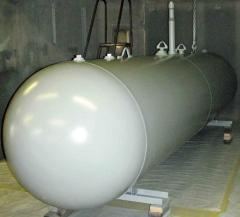 Tanks for gases