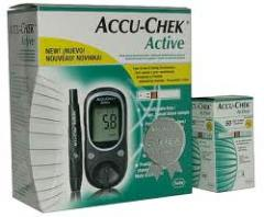 Accu Chek Active Blood Glucose Monitor