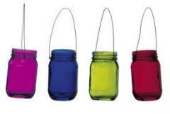 Colour Glass Lantern