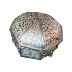 Silver Jewelry Box