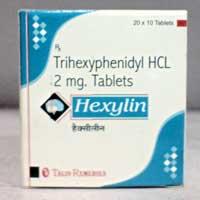 Hexylin Tablet (Trihexyphenidyl)