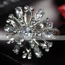 Silver Finish Napkin Rings