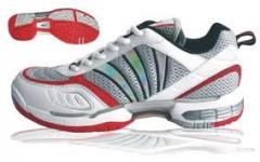 Footwear for ping-pong and badminton