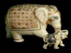 Marble Animal Figures