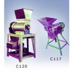 Fruit Mill Crusher / Hammer Crushing Machine