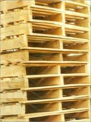 Two Way Single Deck Wooden Pallet