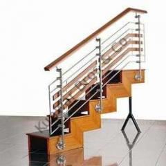 SS Staircase Wooden Combination