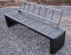 Stainless Steel Bench, Park Bench