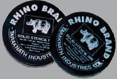Rhino Brand Solid Stencil Ink
