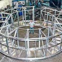 Fabrication of Base Frame